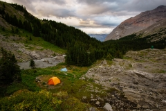 Aster Lake Backcountry Campground
