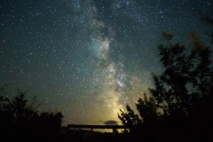 Milky Way from Waterton National Park