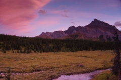 Mount Rae Alpenglow