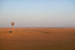 Hot Air Balloons over the Maasai Mara, Kenya