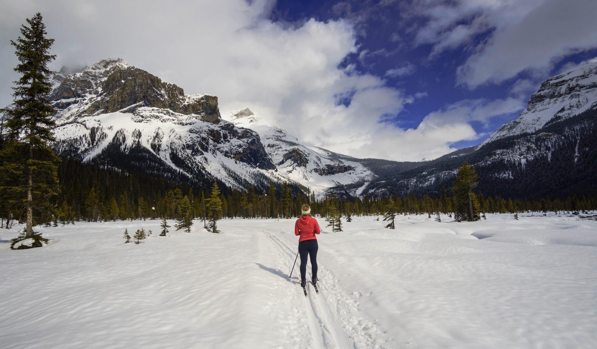 Cross-Country Skiing Emerald Lake