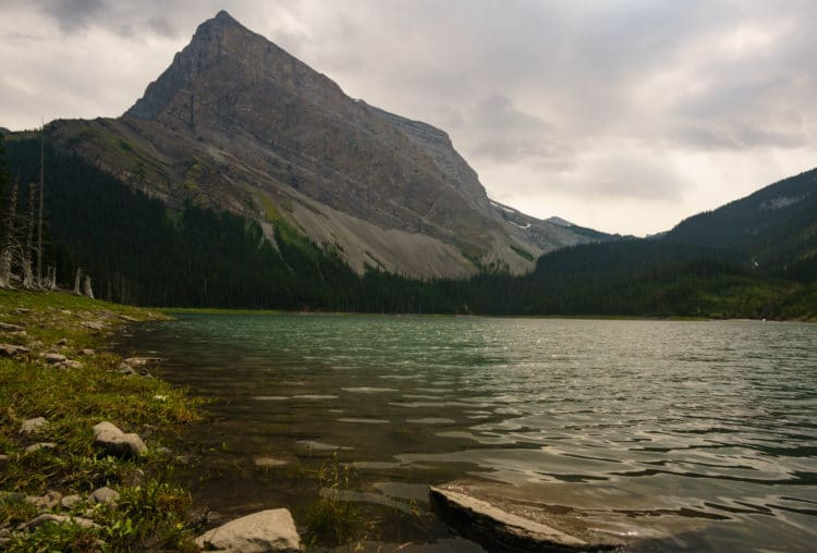 Hidden Lake with Mount Lyautey in the background