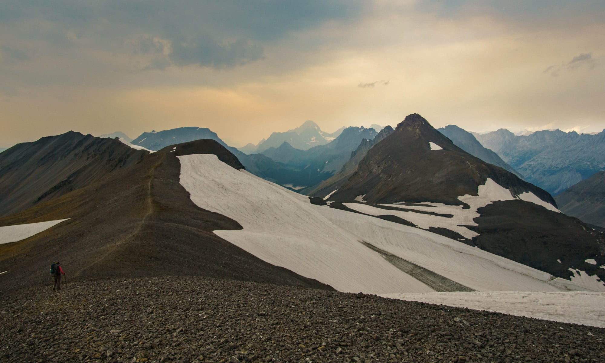 Hiking Northover Ridge