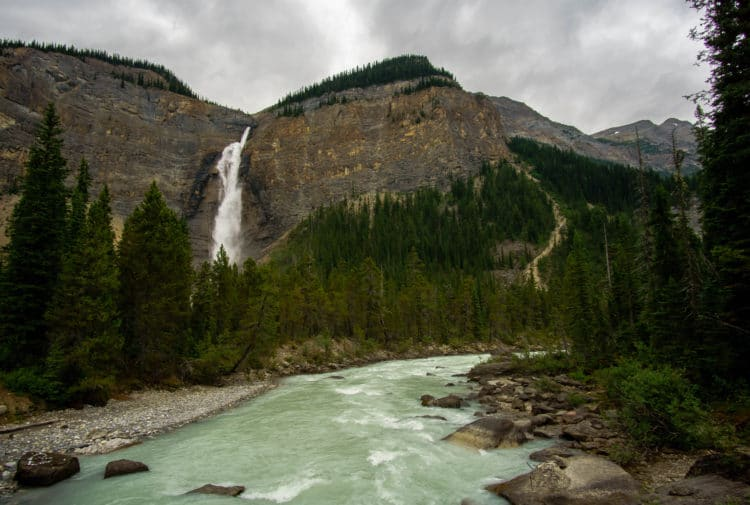 Takakkaw Falls in Yoho National Park