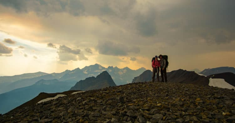 Zentravellers at the top of Northover Ridge