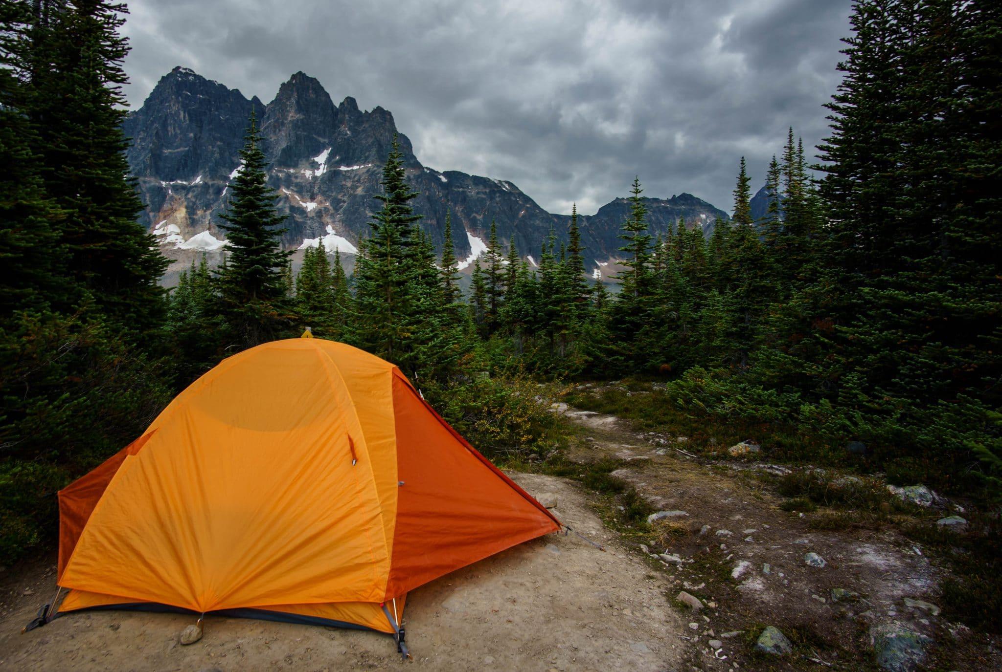 Camping at Amethyst Lakes