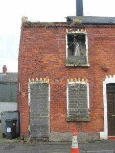 A haunted house in Belfast