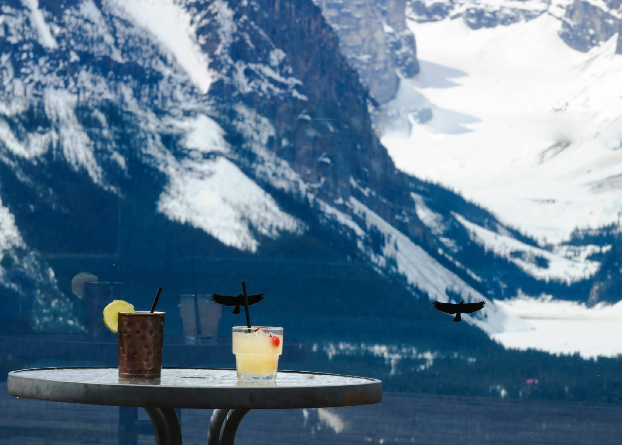 Après-Ski Cocktails at Lake Louise