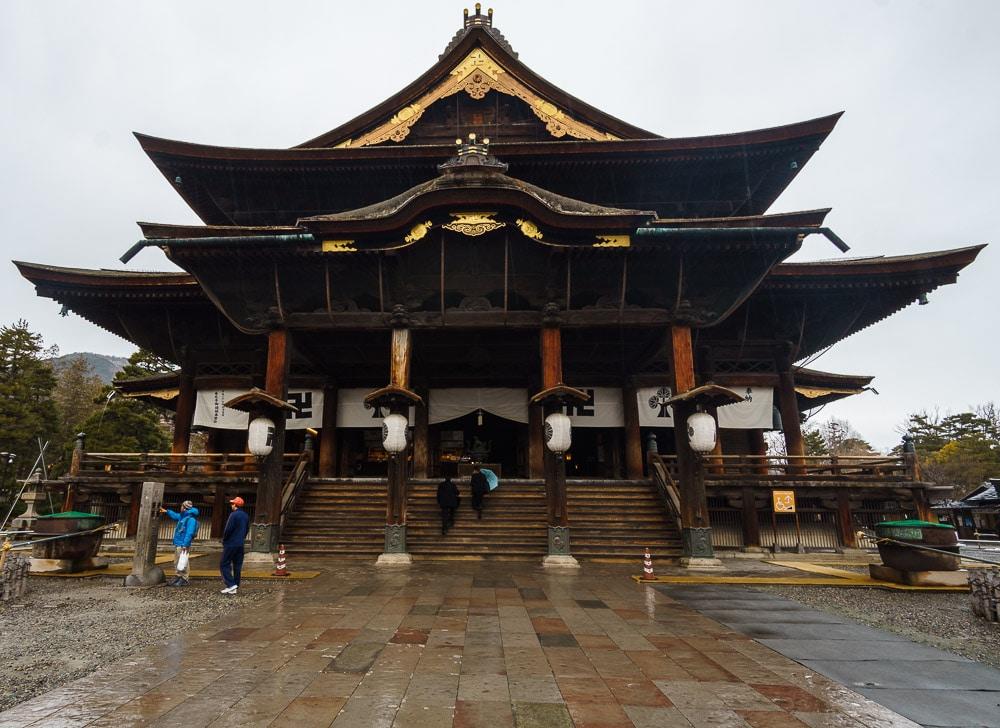 Zenkō-ji Temple Nagano