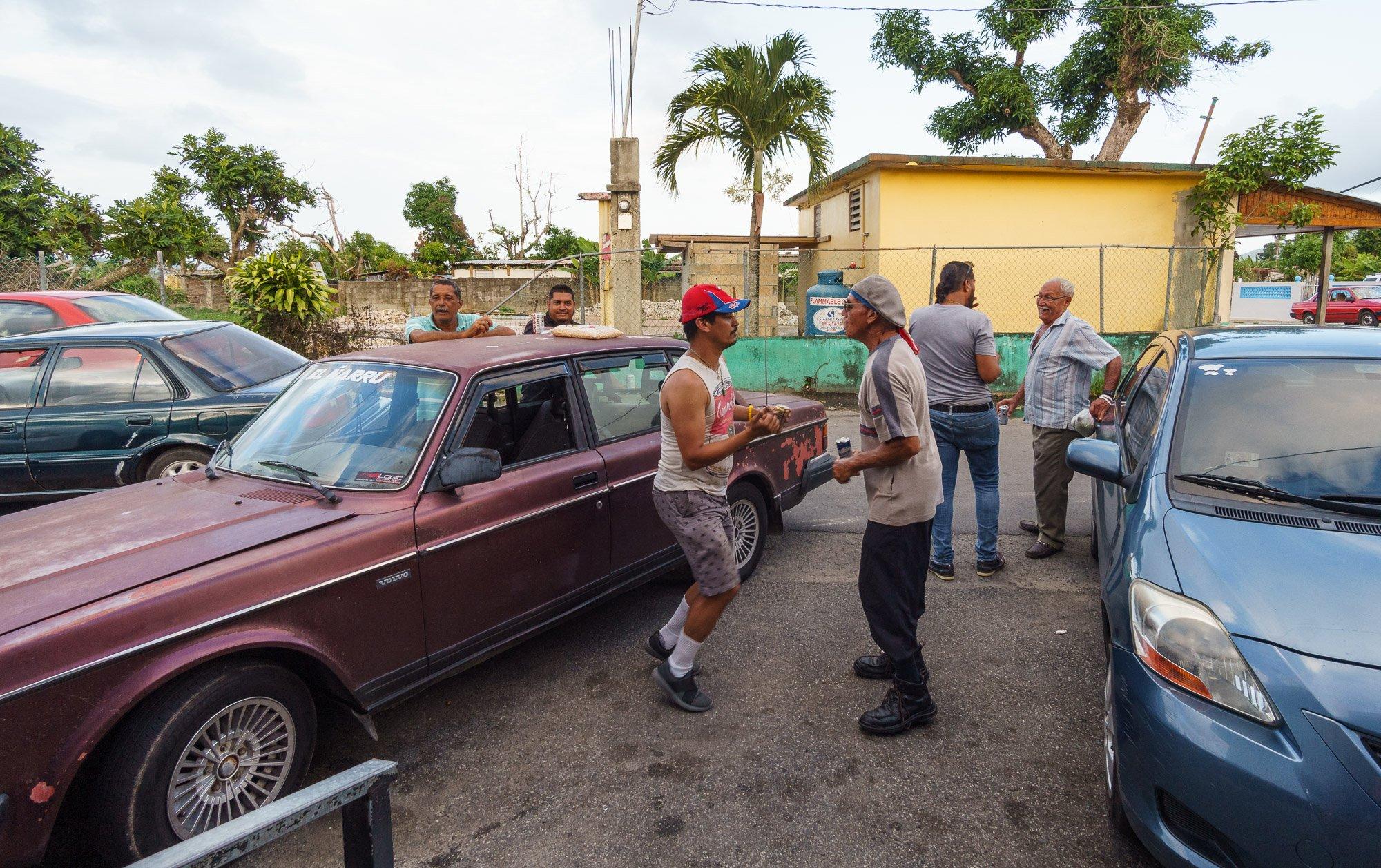 Dancing at the Colmado in Puerto Rico
