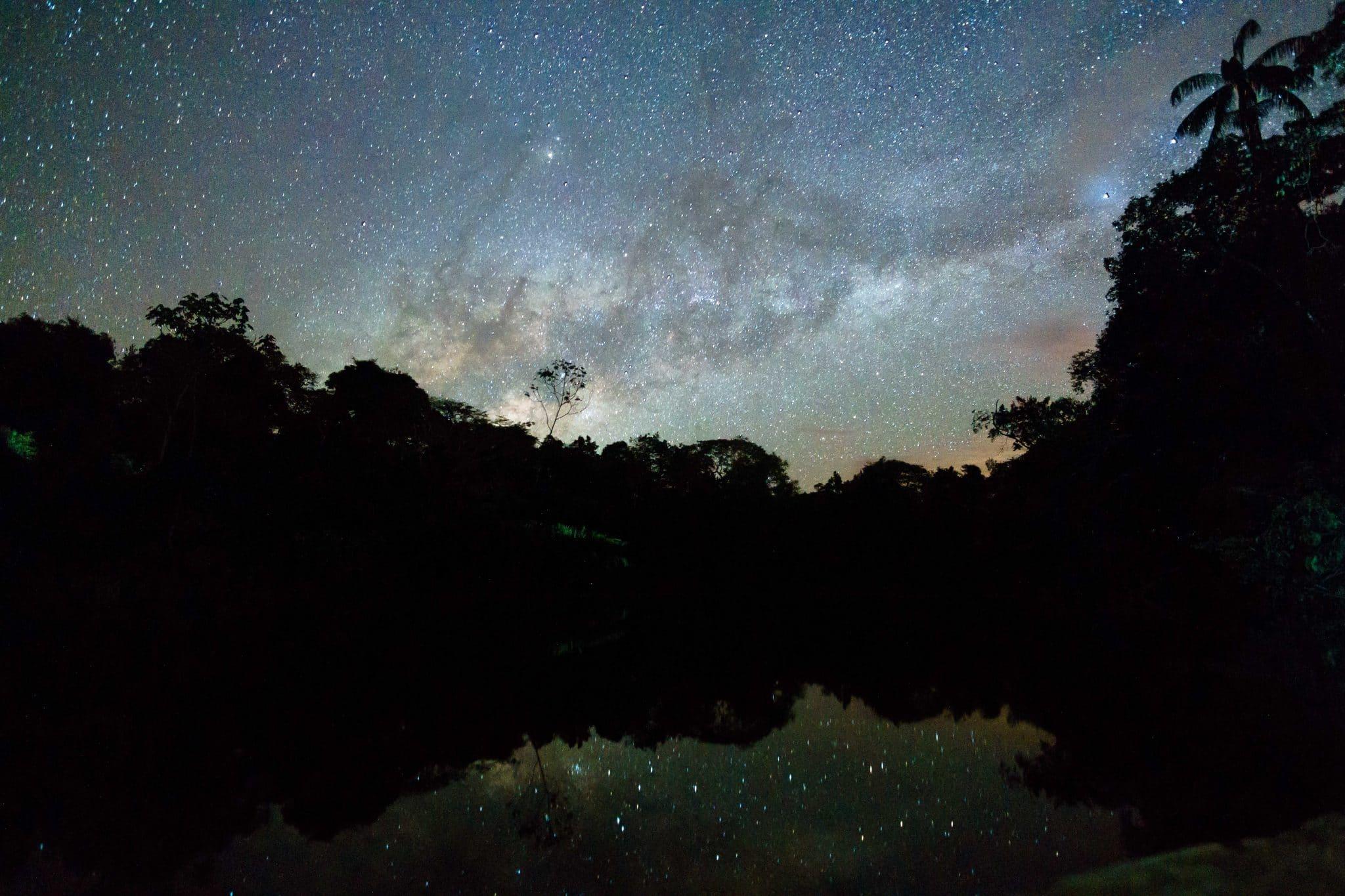 Milky Way on our Amazon Tour in Ecuador