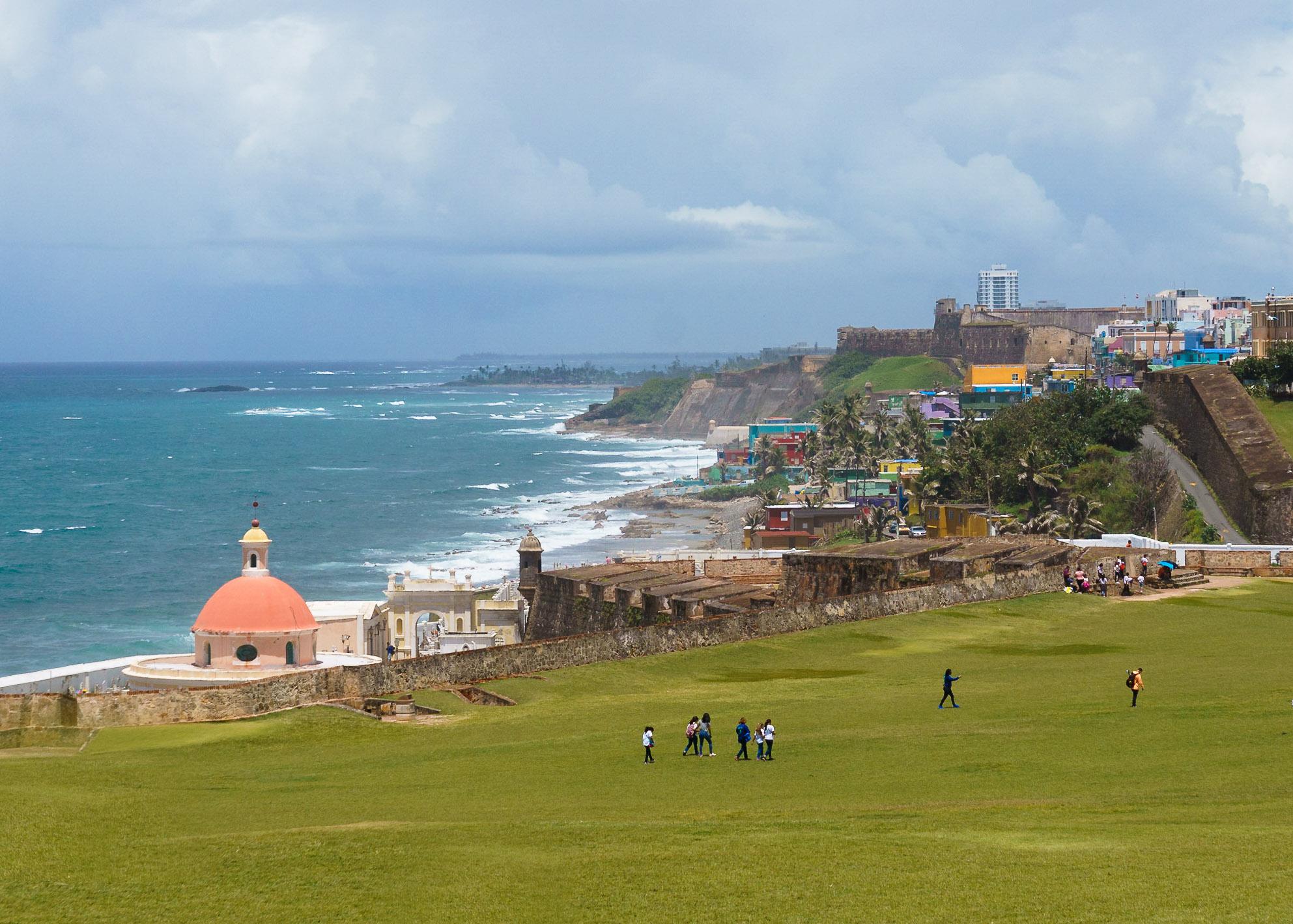 Old San Juan from Castillo San Filipe