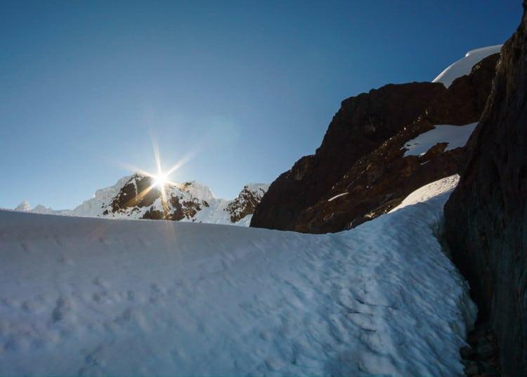 Sunrise on Matteo Peak