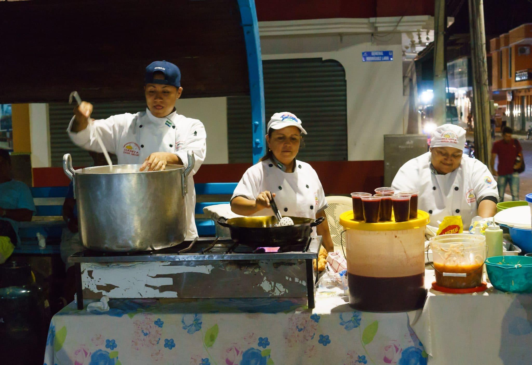 Empanada Stand Puerto Ayora