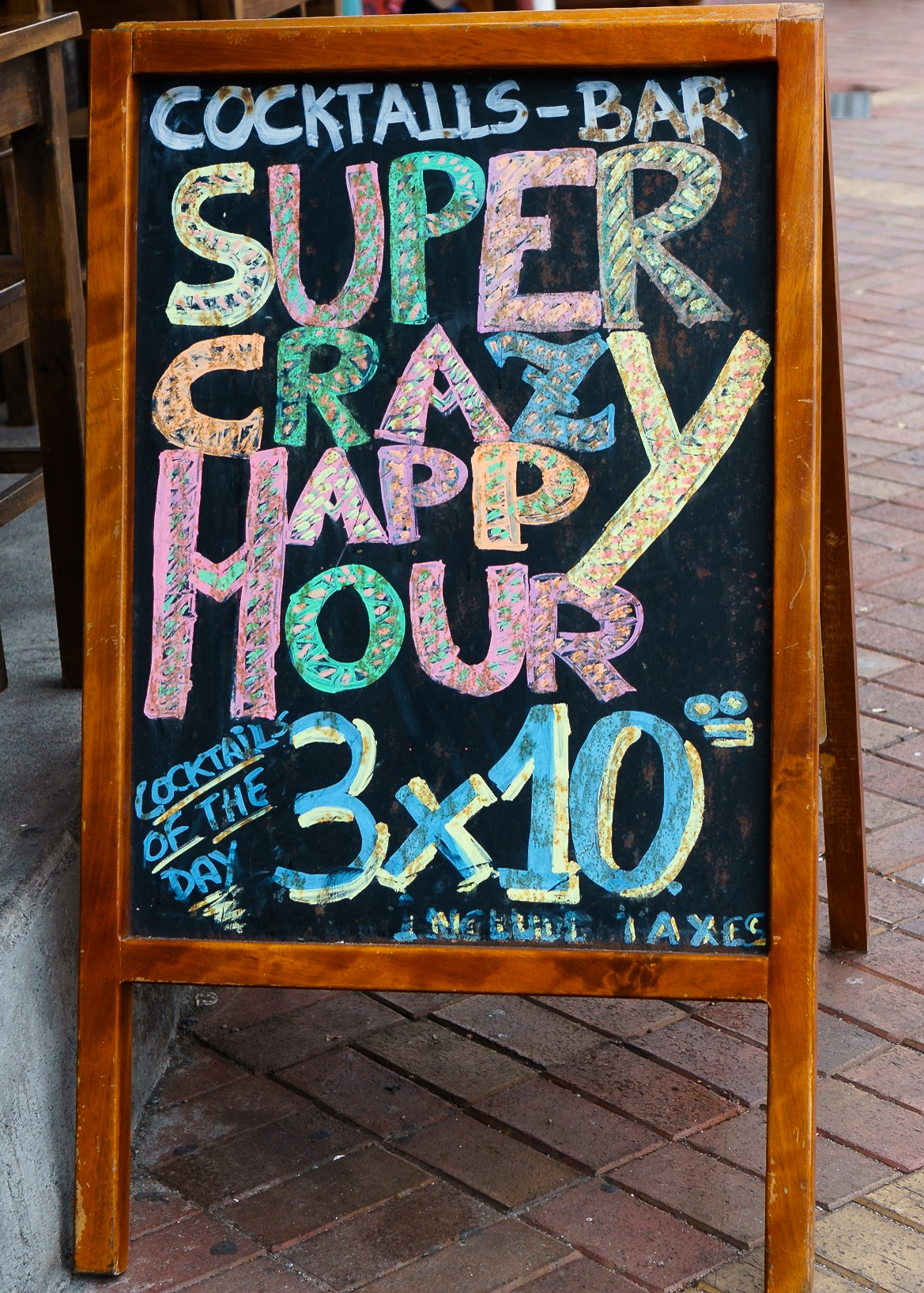 Super Crazy Happy Hour Galapagos