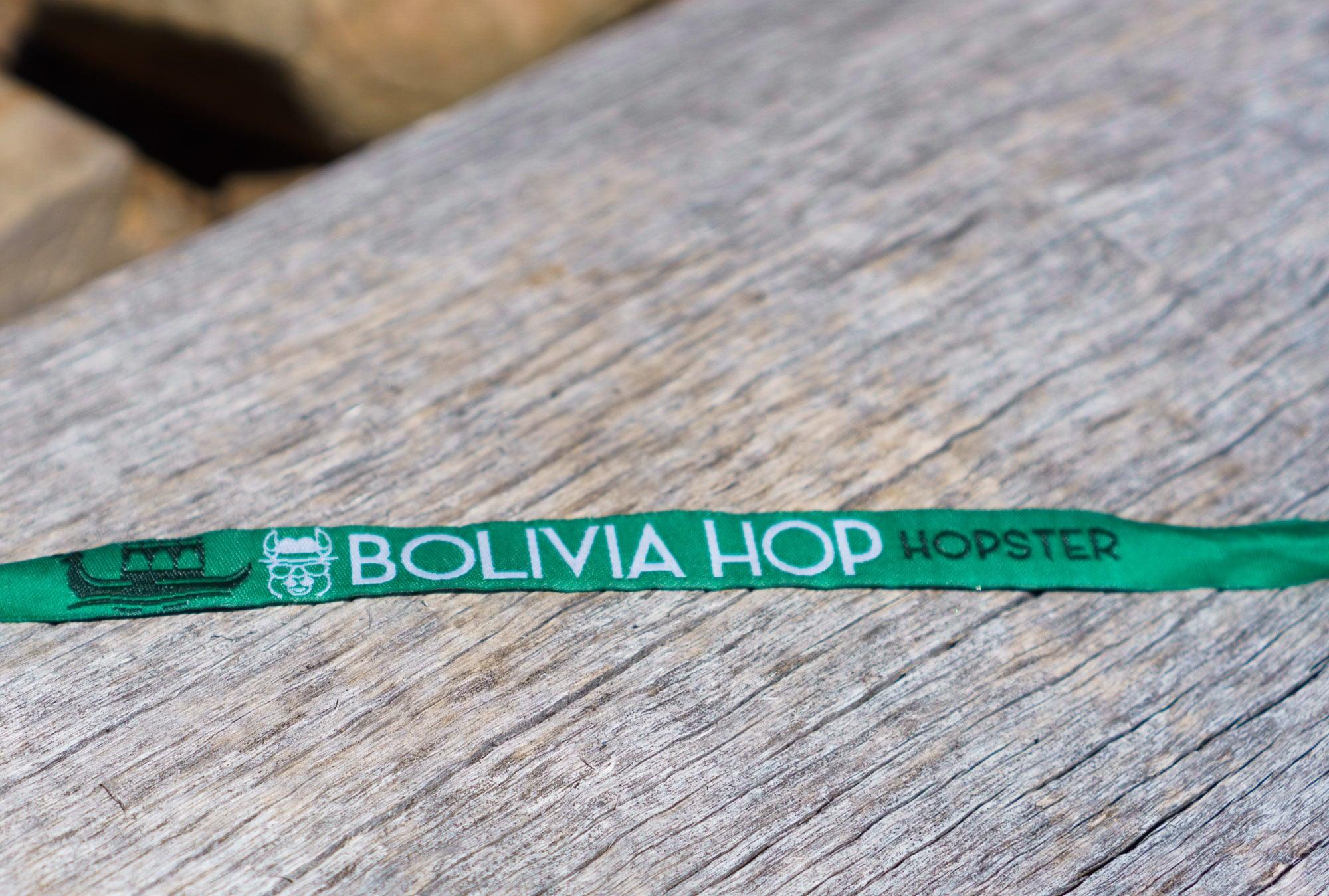 Bolivia Hop Wristband