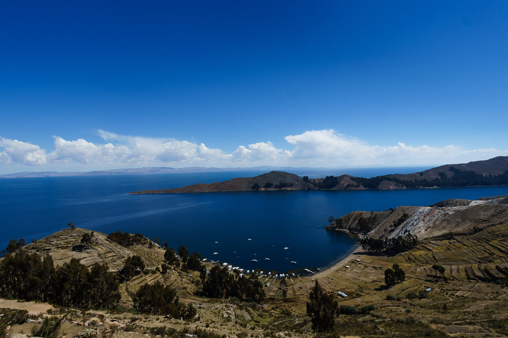 Isla del Sol viewpoint
