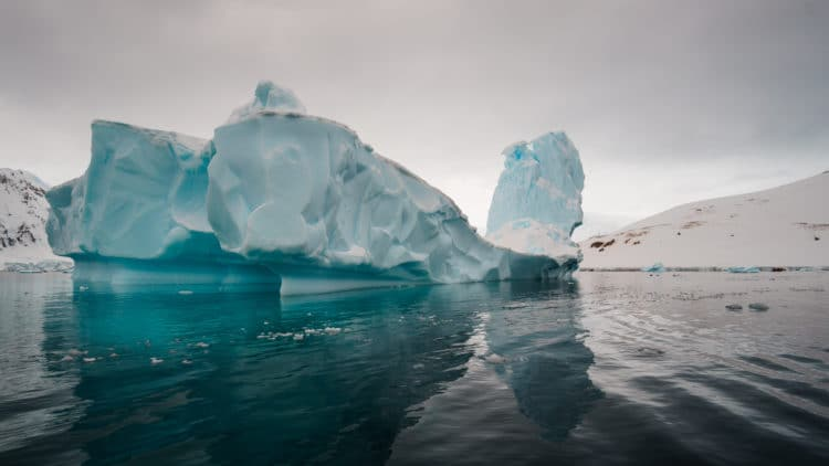 Beautiful Icebergs in Antarctica