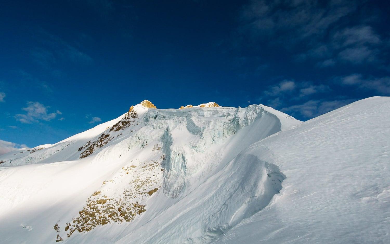 Glacier covered Huayna Potosi
