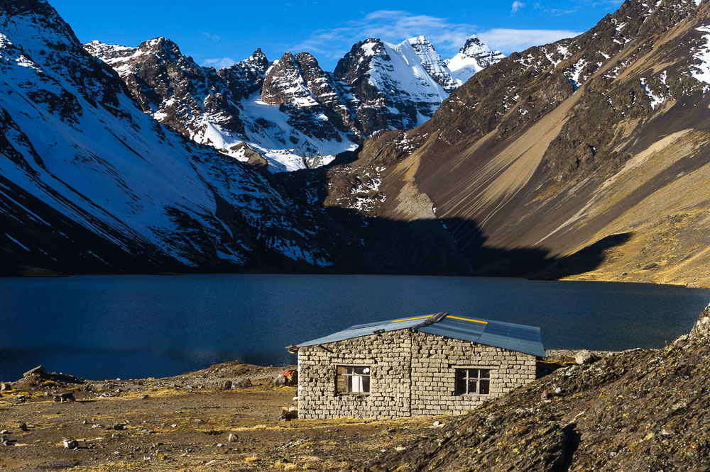 Refugio in the Cordillera Real