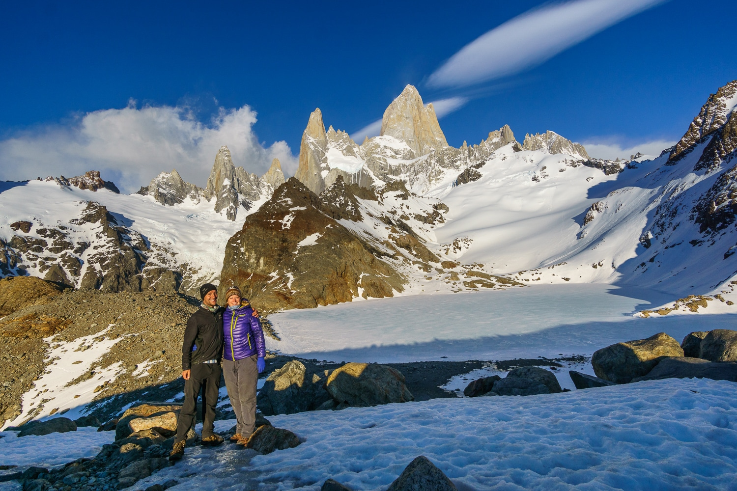 Zentravellers at Fitz Roy, Patagonia