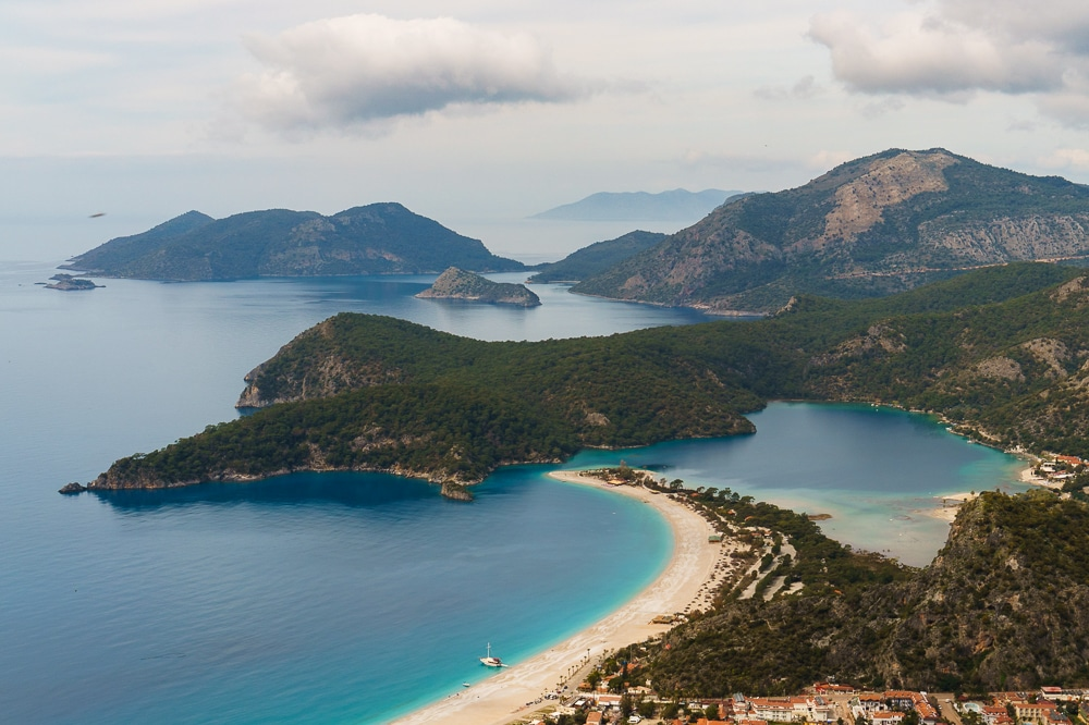 The views while Hiking the Lycian Way in Turkey