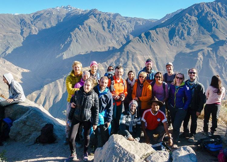 Colca Canyon Tour Group Day 3