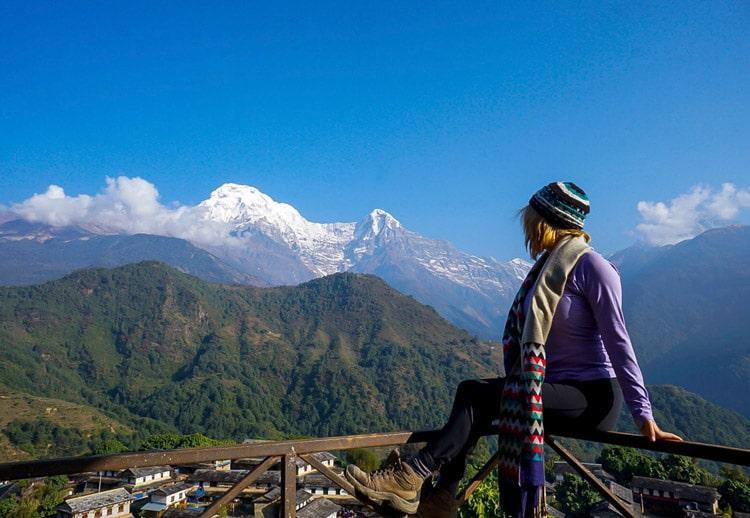 ghandruk trek from pokhara