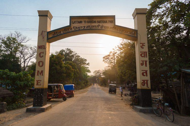 bardia national park gate