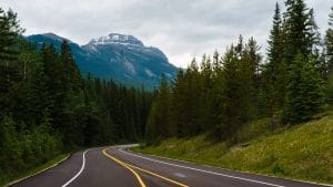 cyling bow valley parkway