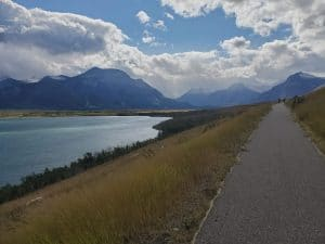 Kootenai Brown Cycling Path Waterton