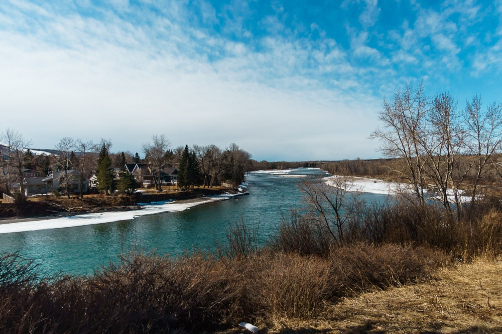 Dale Hodges Park by the Bow River